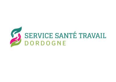 Création logo Service Santé au Travail Dordogne