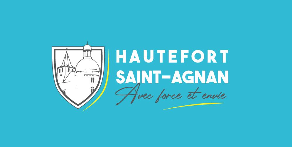 Création logo Mairie Hautefort-Saint-Agnan