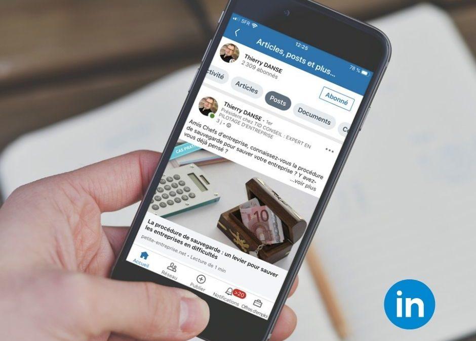Animation Réseaux sociaux LinkedIn TID Conseil
