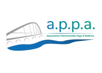 Création logo A.P.P.A – Association patrimoine et environnement