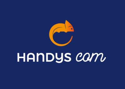 Création logo Handys Com – Consultante en communication handicap