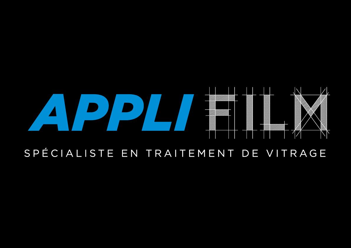 creation-logo-specialiste-du-traitement-de-vitrage-applifilm-dordogne