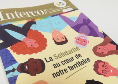 Création Magazine Intercommunal N°4 Périgord Limousin