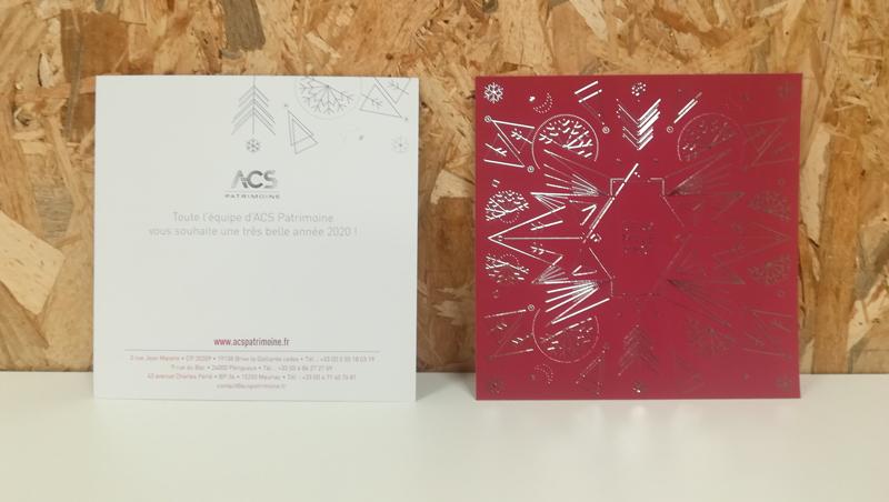 carte de voeux 2019 ACS - Adékoi dordogne