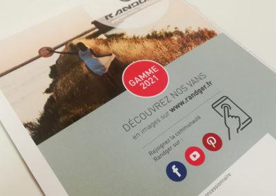 catalogue produits Randger gamme 2021 - Adékoi communication Dordogne