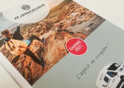 Création Catalogue Produits Gamme 2021 Randger