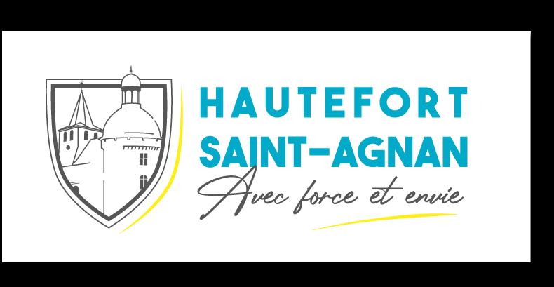 Logo Mairie Hautefort Saint-Agnan - Adékoi communication Dordogne