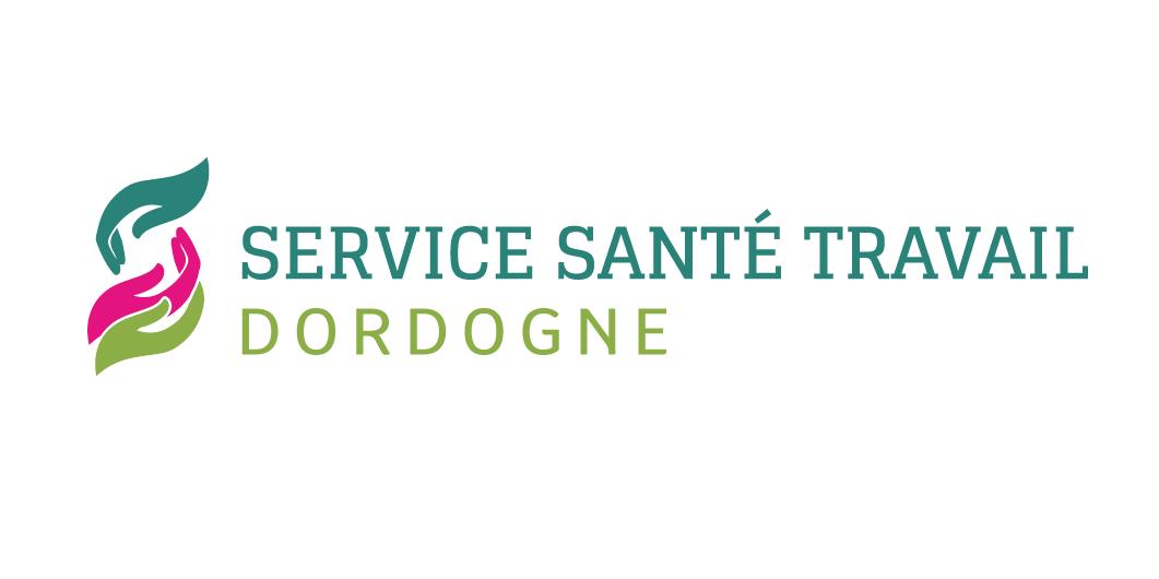 Logo Service Santé Travail Dordogne - Adékoi communication Périgueux