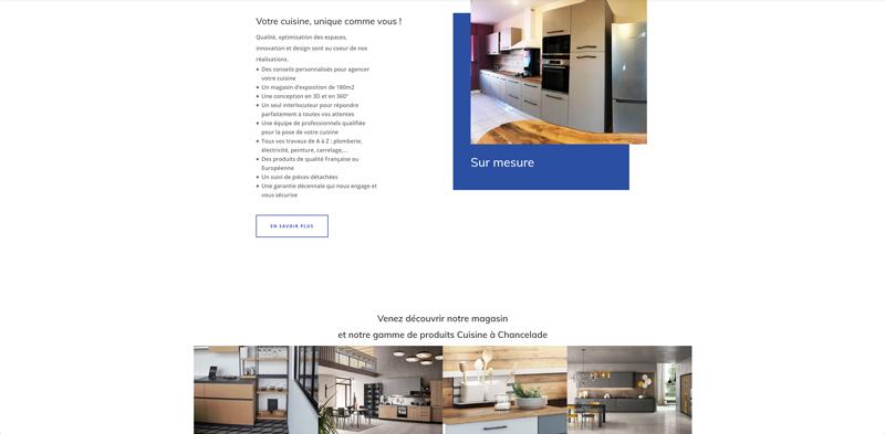 Site internet Périgueux Rêves et confort - Adékoi communication et web