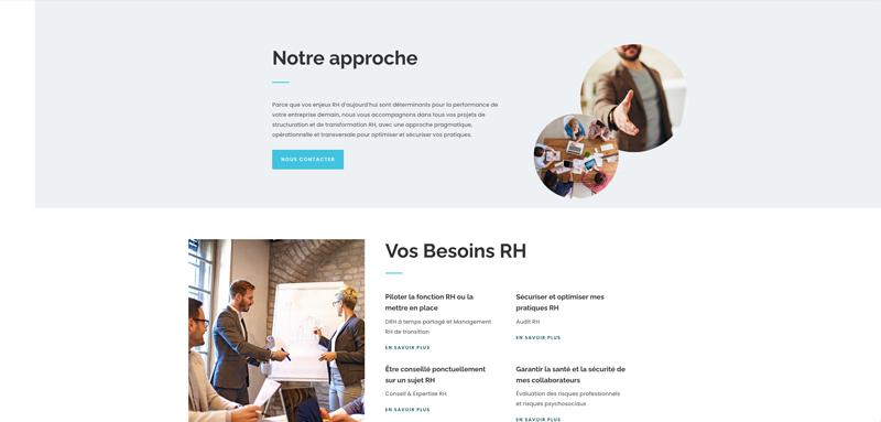 Site internet Périgueux Statim management ressources humaines - Adékoi communication et web
