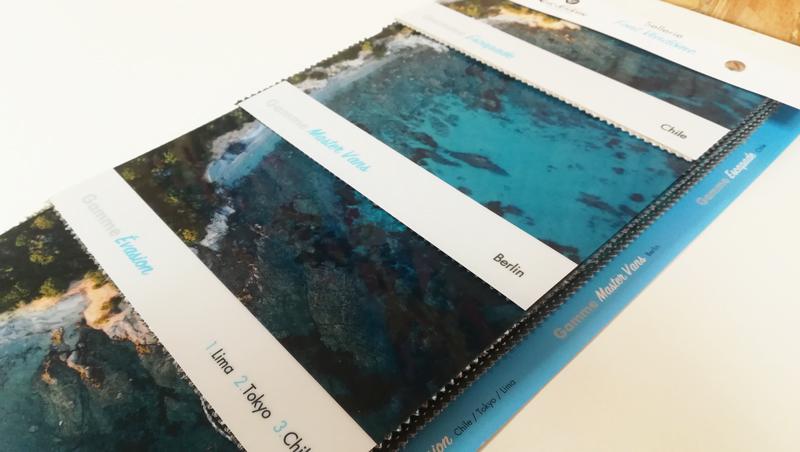 Création Echantillonneur tissu Font Vendôme 2021