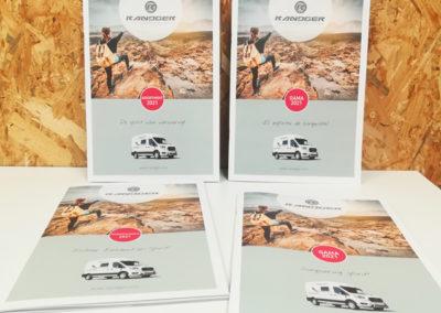 Création Catalogue Export Gamme 2021 Randger