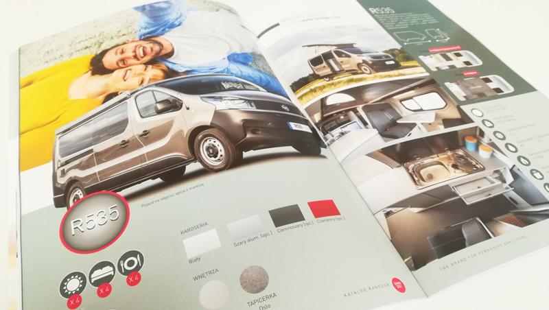 Catalogue export Randger - Vans aménagés - Adékoi communication