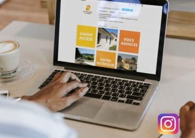 Animation Réseaux sociaux Instagram Demeures Occitanes