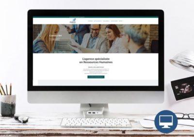 Création site internet : Statim management