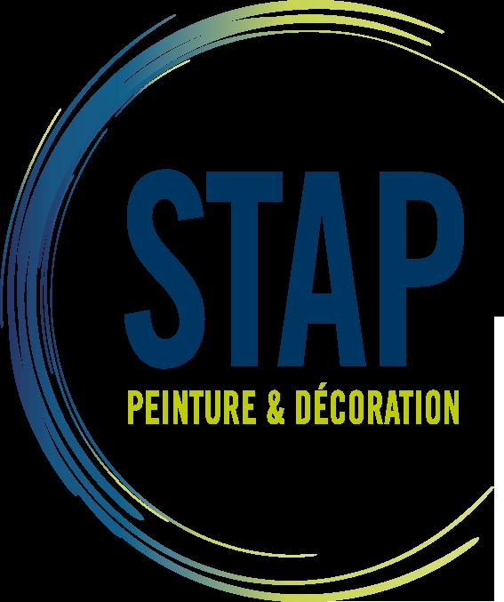 Logo STAP - peinture - Adékoi communication Périgueux