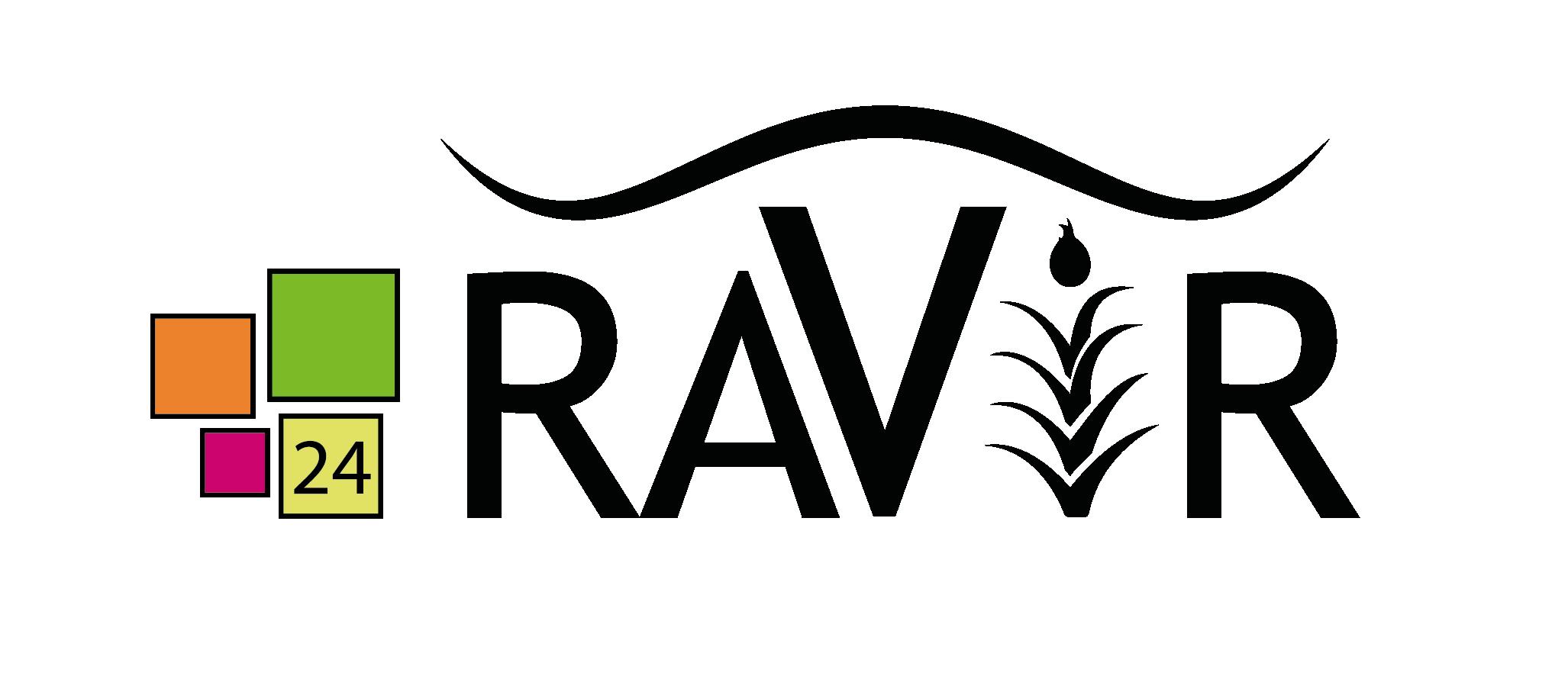 Logo Ravir - Groupement d'achats métiers de bouche - Adékoi communication Périgueux