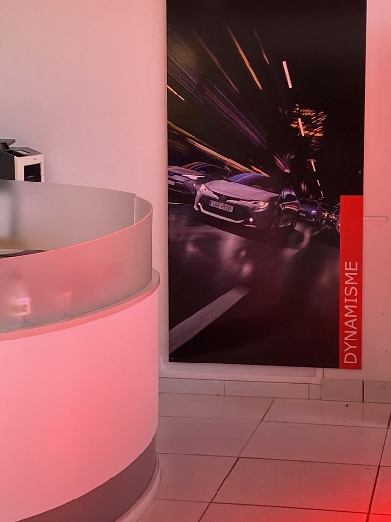Signalétique edenauto Toyota Périgueux - Adékoi communication