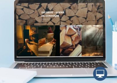 Création site internet : Sycobois scierie en Dordogne