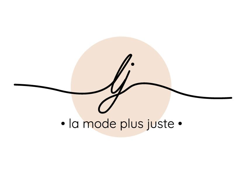 Logo La mode plus juste - Vêtements éthiques - Adékoi communication Dordogne