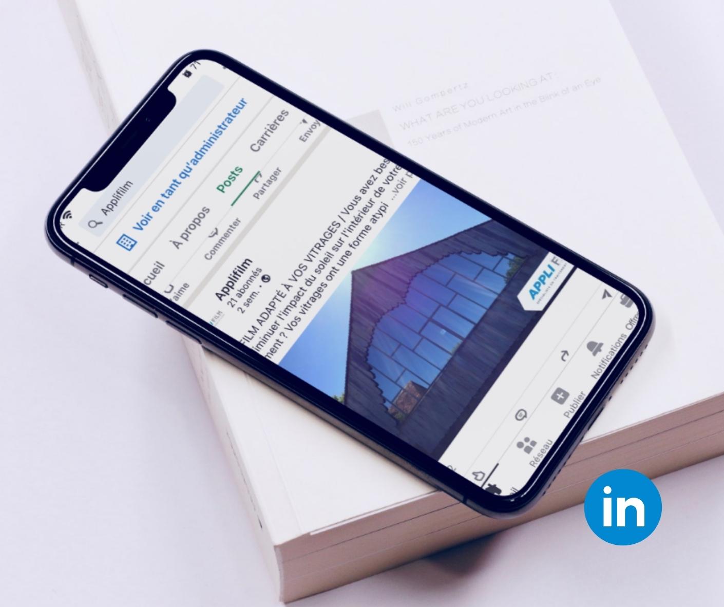 LinkedIn Applifilm - Adékoi communication Périgueux