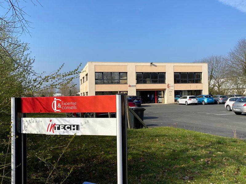 Panneau - Habillage intérieur extérieur LC expertise Périgueux - Adékoi communication