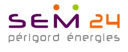 Logo Périgord énergies SEM24 - Adékoi communication