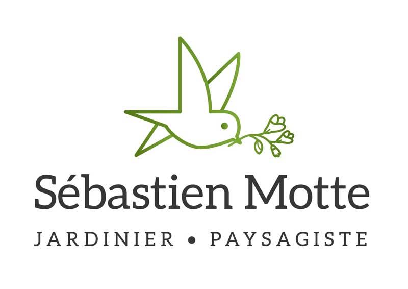 Création logo Sébastien Motte, jardinier paysagiste