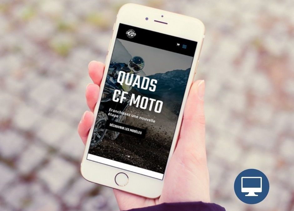 Création site internet : Quads Dordogne