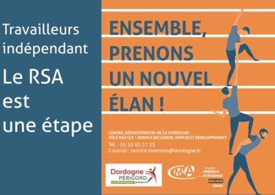 Création Affiche et flyer – Chambre des Métiers et de l'Artisanat de la Dordogne