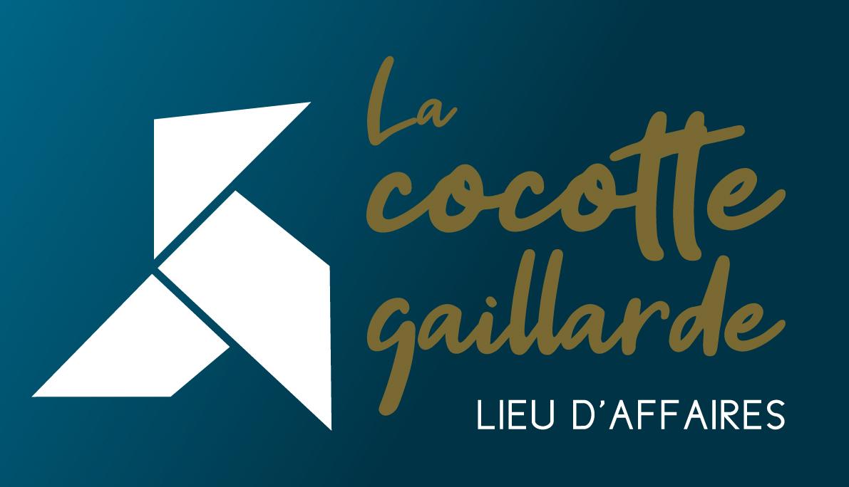 Création logo La cocotte gaillarde, co-working à Brive - Adékoi communication