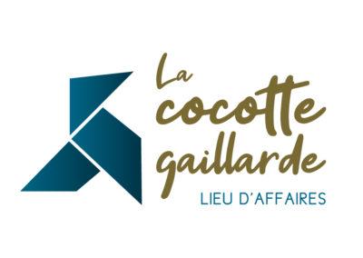 Création logo La cocotte gaillarde – Coworking